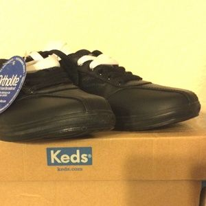 Keds Prestige Sneakers, black or white laces, NIB